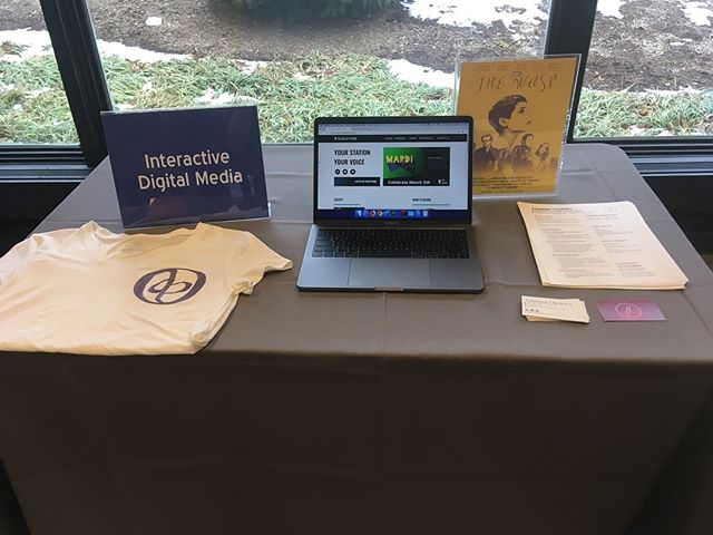 Had a great time at the @websteru  Student Showcase!! #mediaacademy #websteruniversity #posterdesign #uidesign #tshirtdesign #vectorart