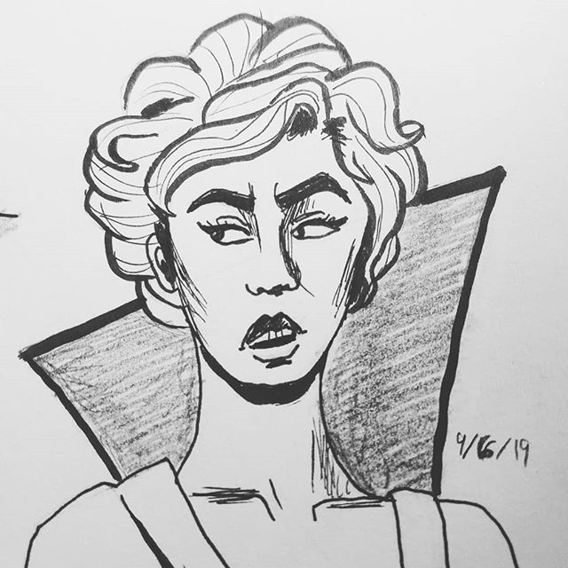 More sketches! #portraitdrawing #inking #pencildrawing #blackandwhite #illustrationcommissions #commisionsopen #portraitcommissions