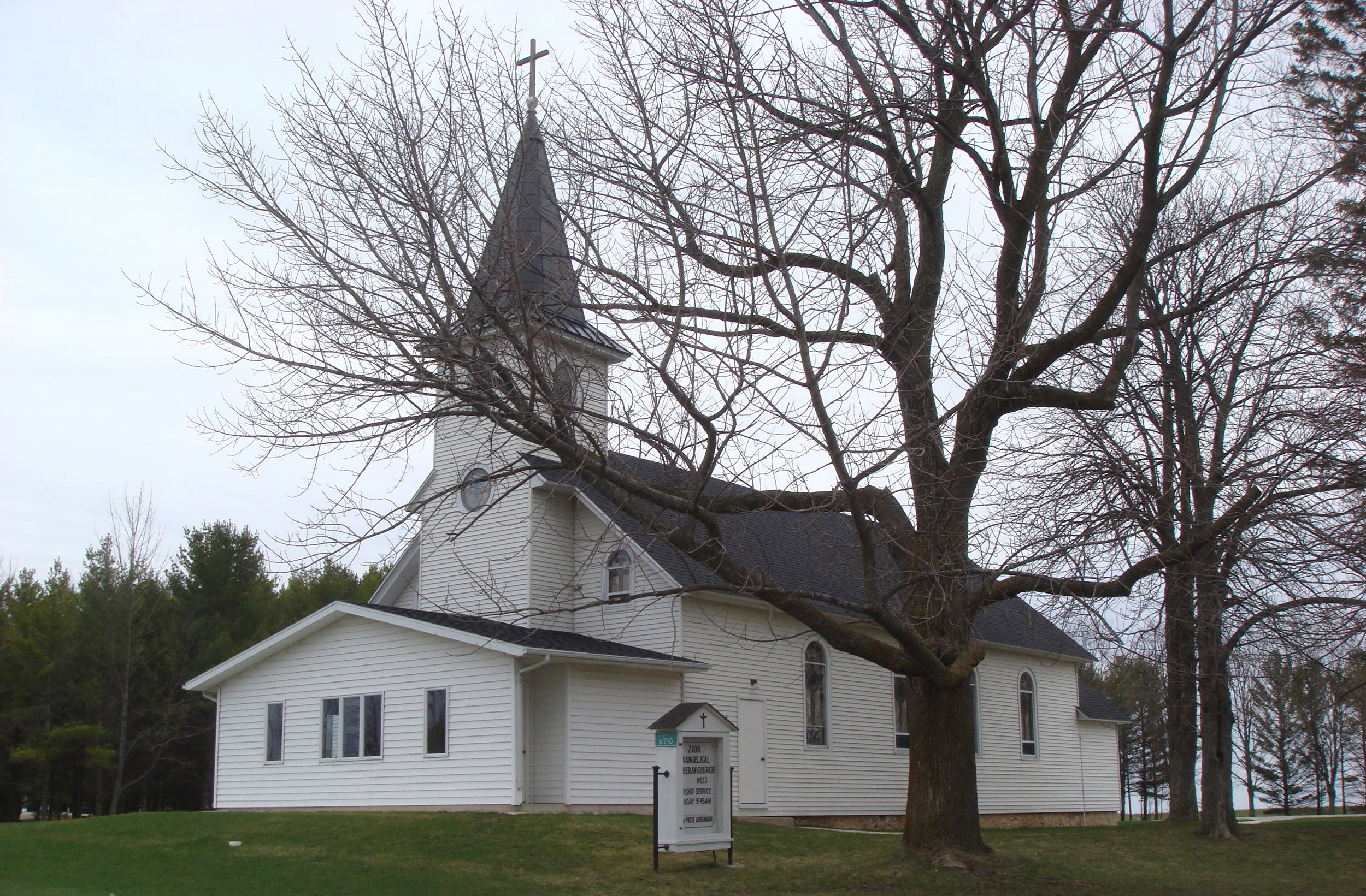 ZION LUTHERAN CHURCH - EGG HARBOR, WISCONSIN