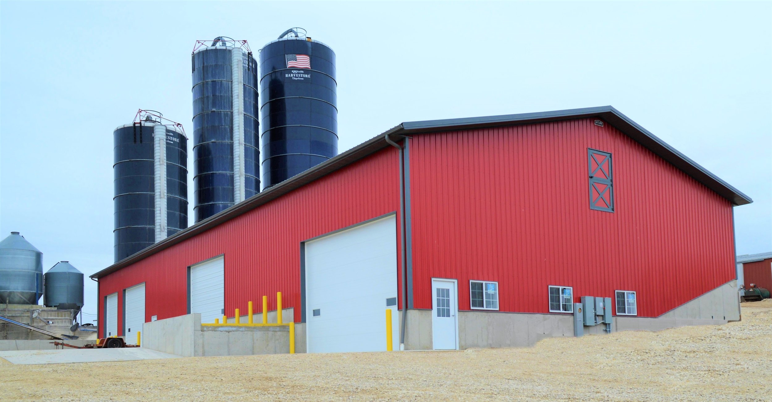 REDLIN DAIRY FARM COMMODITY BUILDING - OCONOMOWOC, WI