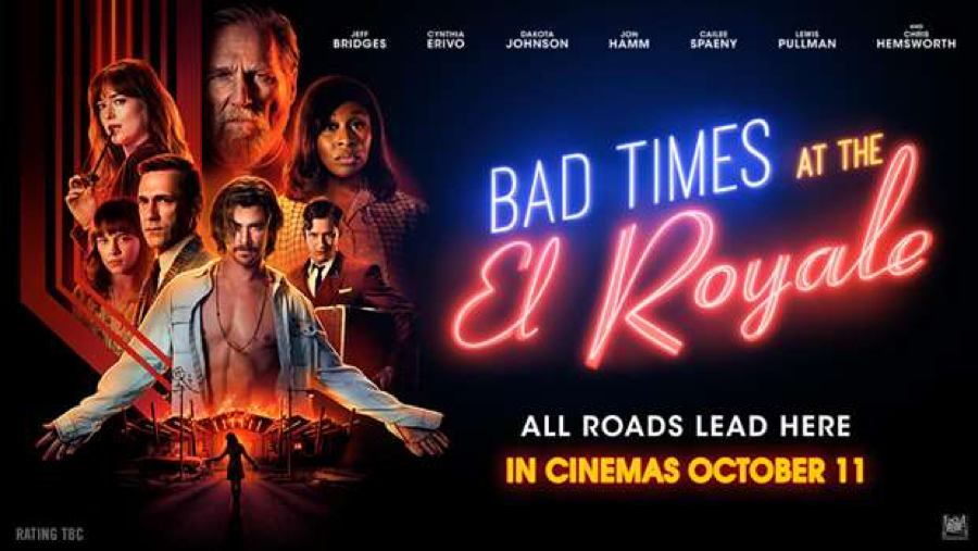 """Poster for """"Bad Times at the El Royale"""""""