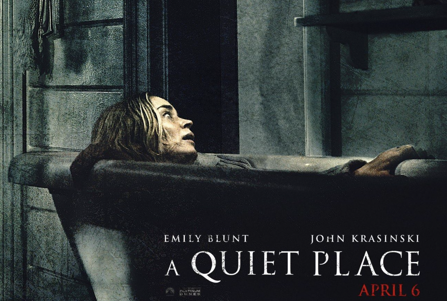 """""""A Quiet Place"""" Poster"""