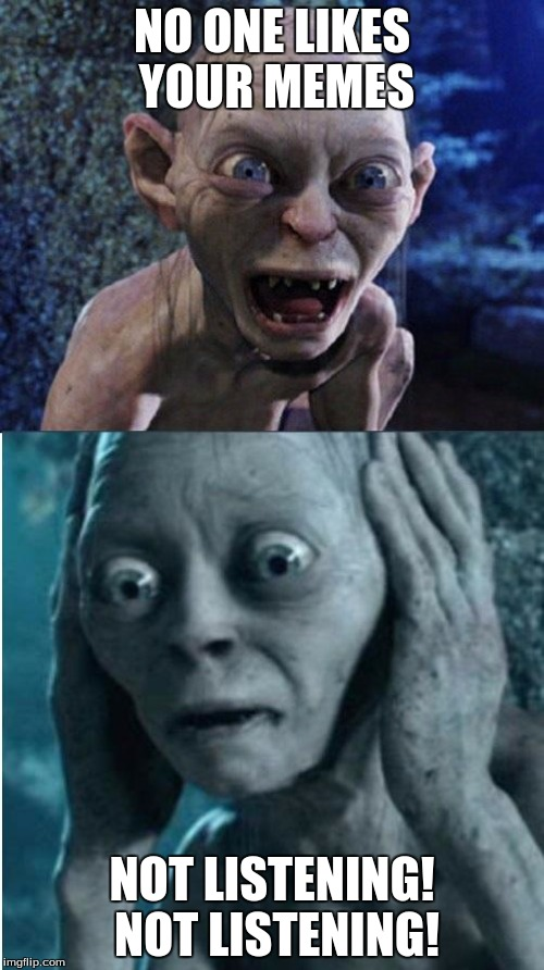 Bethany is a smeagol voice and meme queen!