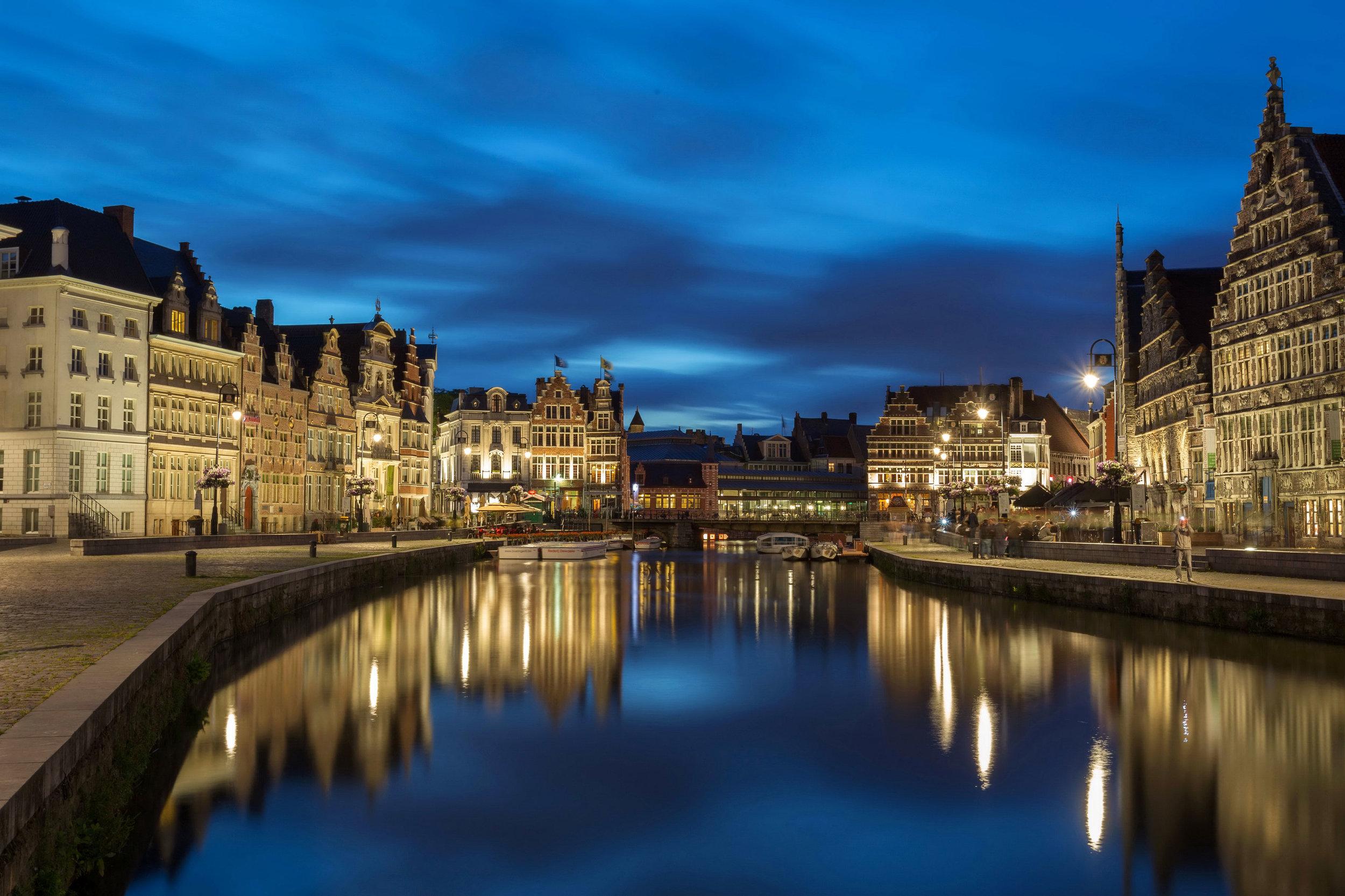 Ghent, BelgiumOne of Europe's oldest cities -