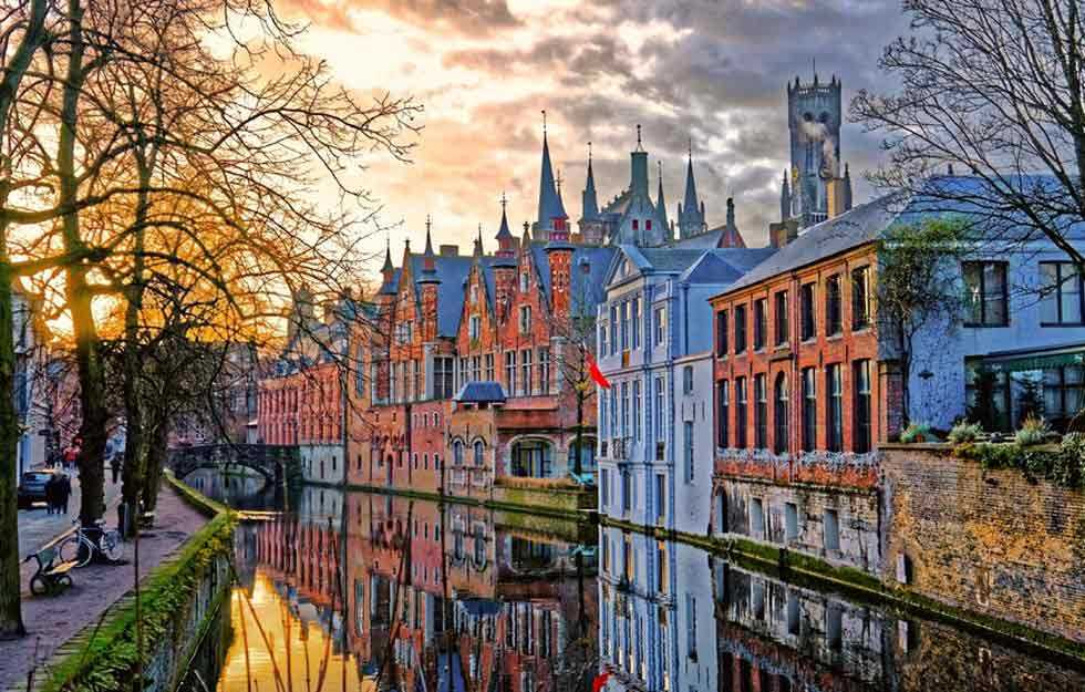 Bruges, BelgiumA fairy-tale medieval town -
