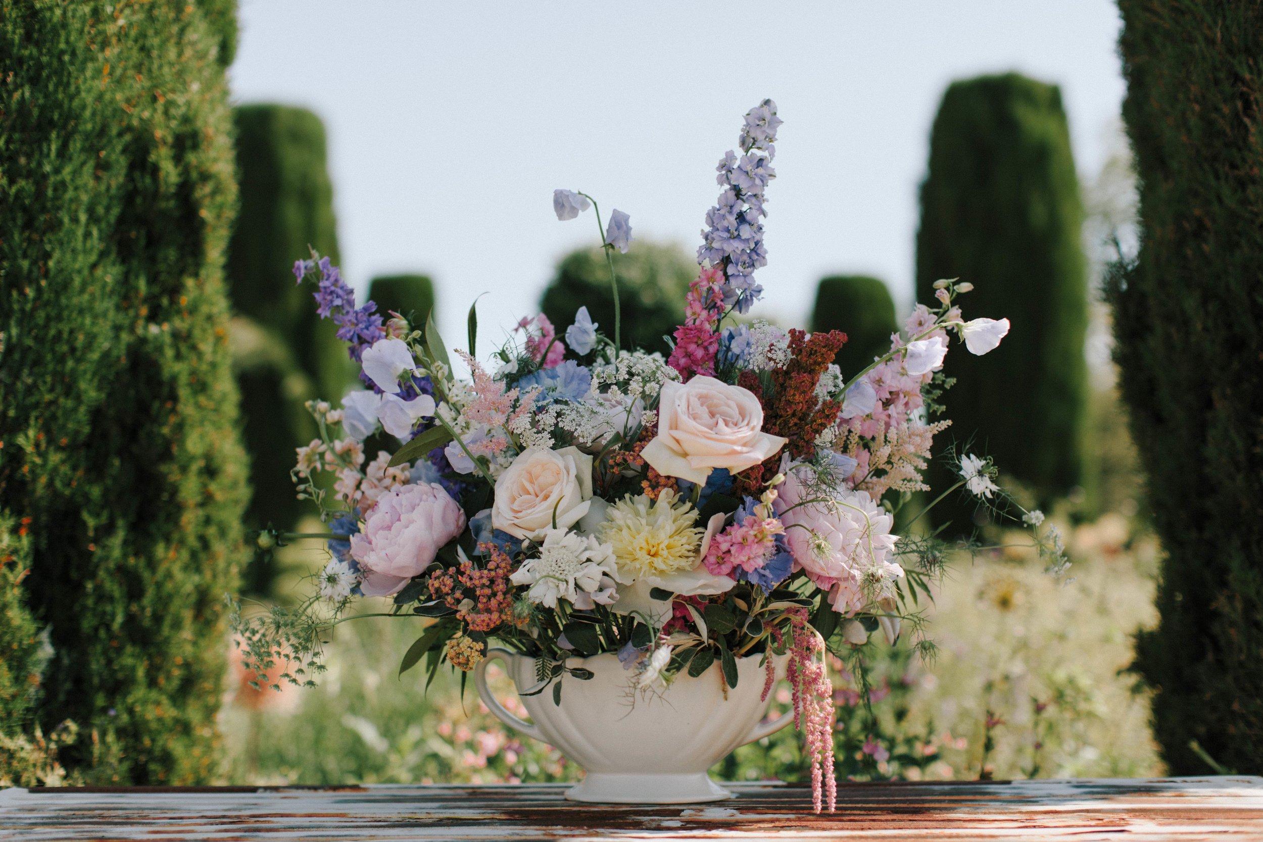 Constance Spry Vase Arrangement