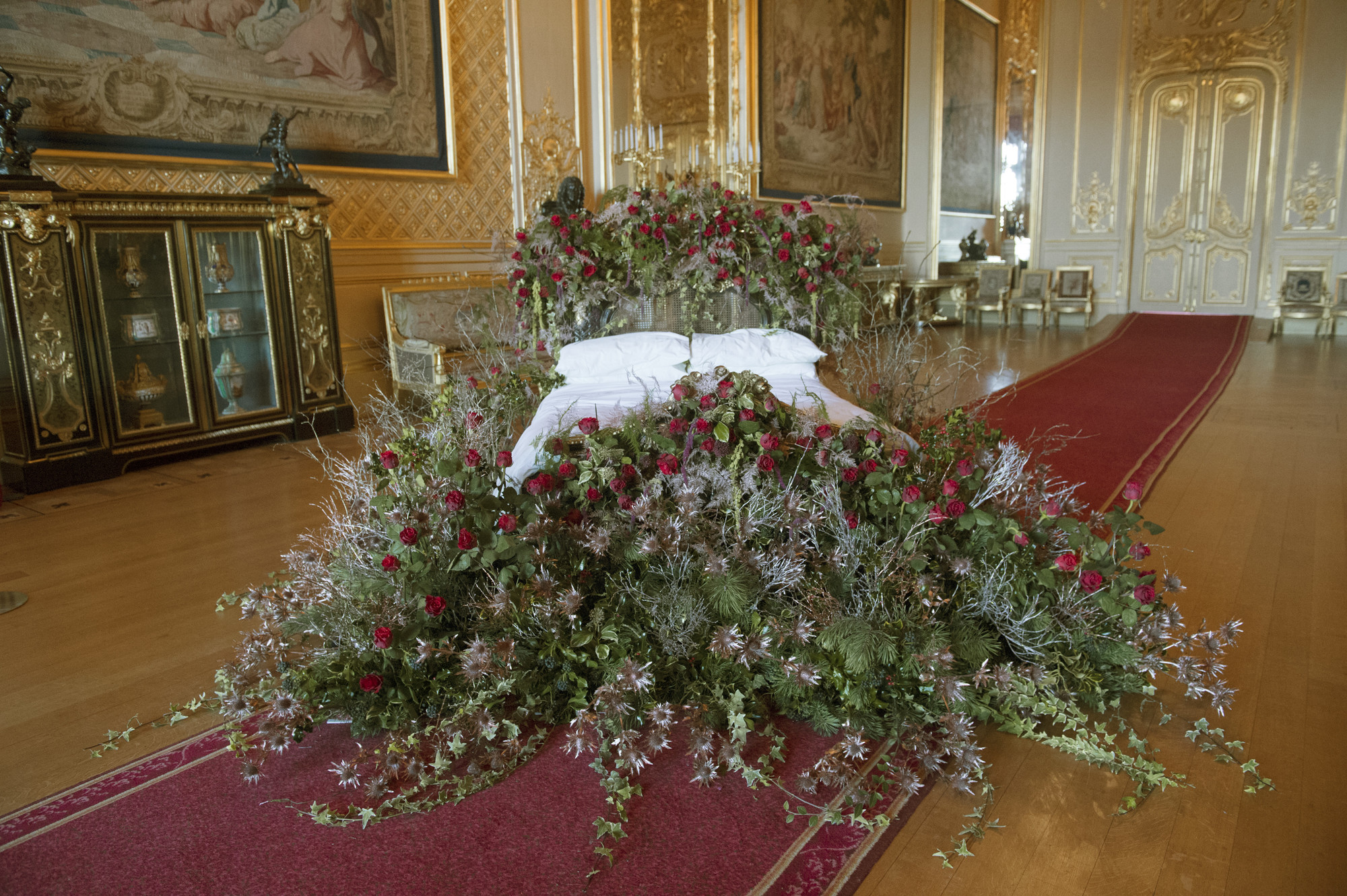 Sleeping Beauty Installation at Windsor Castle
