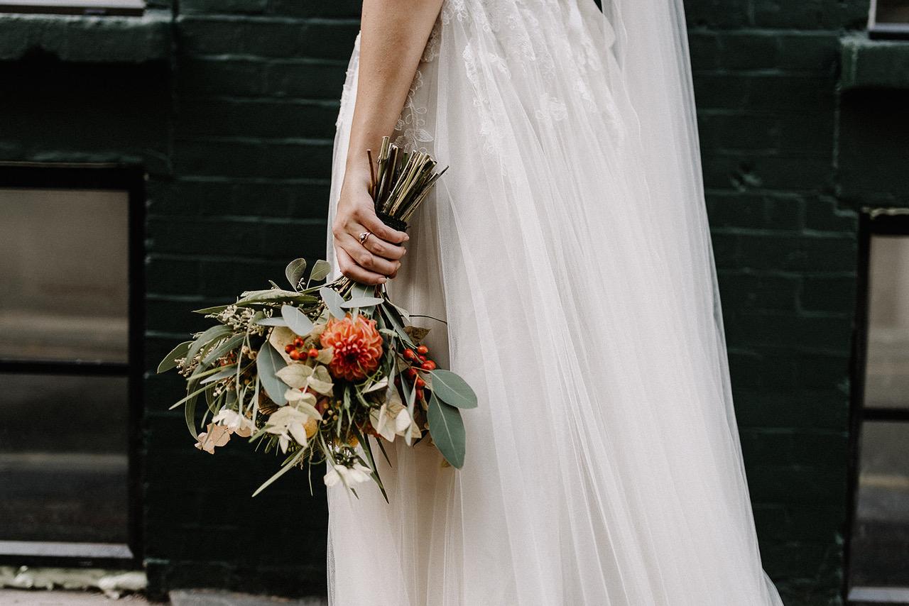 October Wedding Bouquet