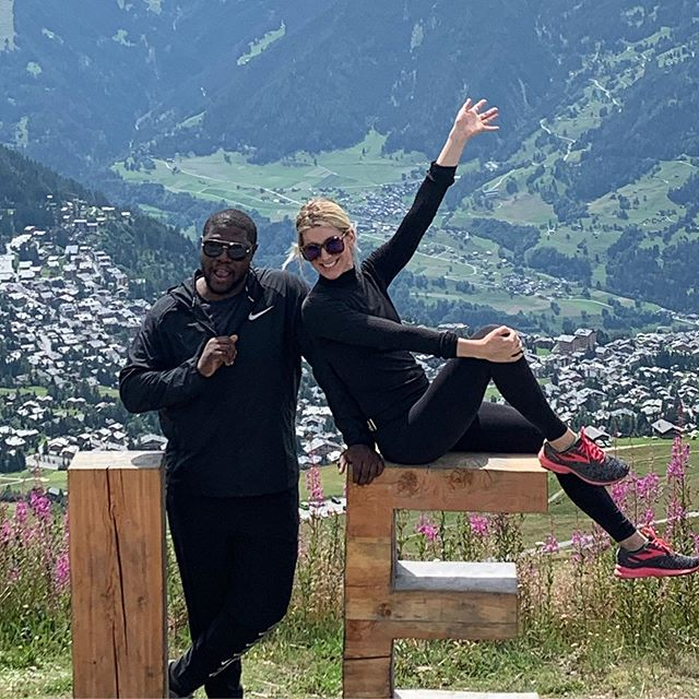 The Yusuf family takes on Switzerland...Marley took the first photo for us.