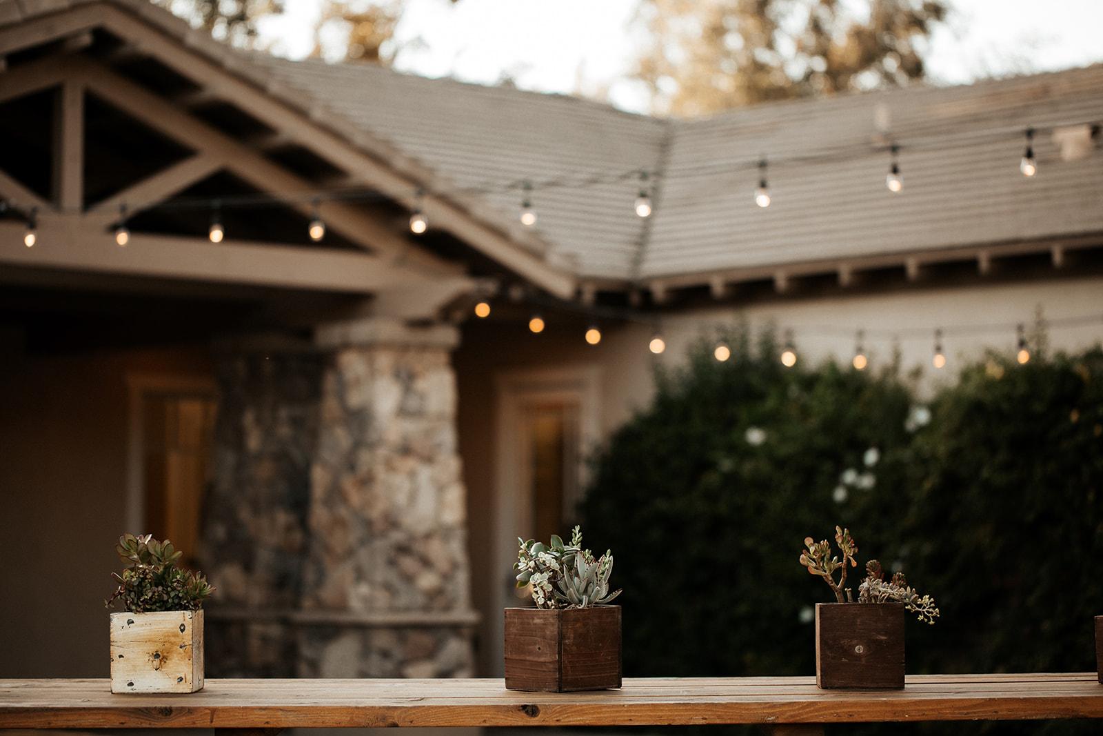 wedding outdoor decor