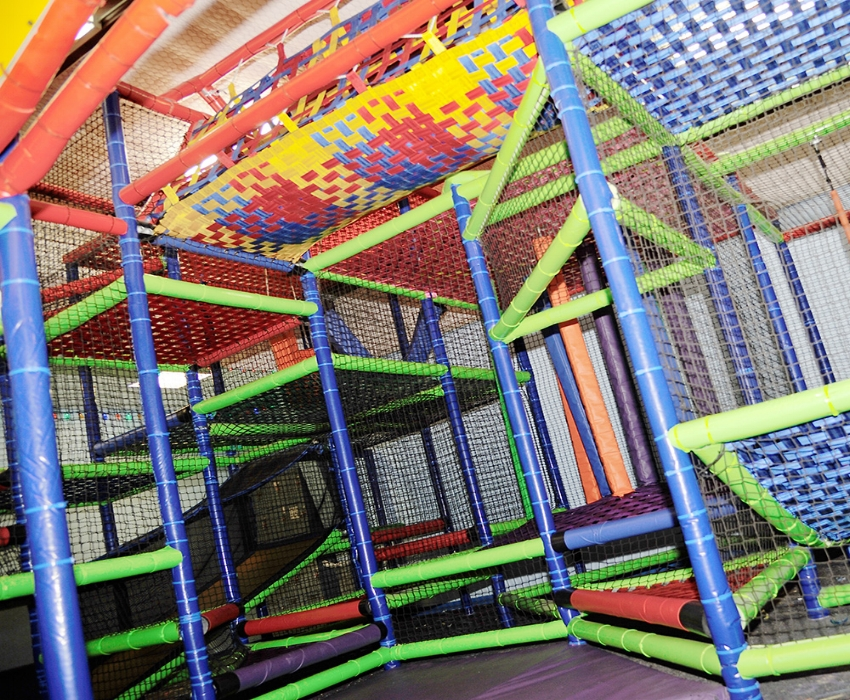 Add The Playground for ONLY $2 Per Person (Ages 10 & Under) - Available At Skate Country Bellmead Location Only!