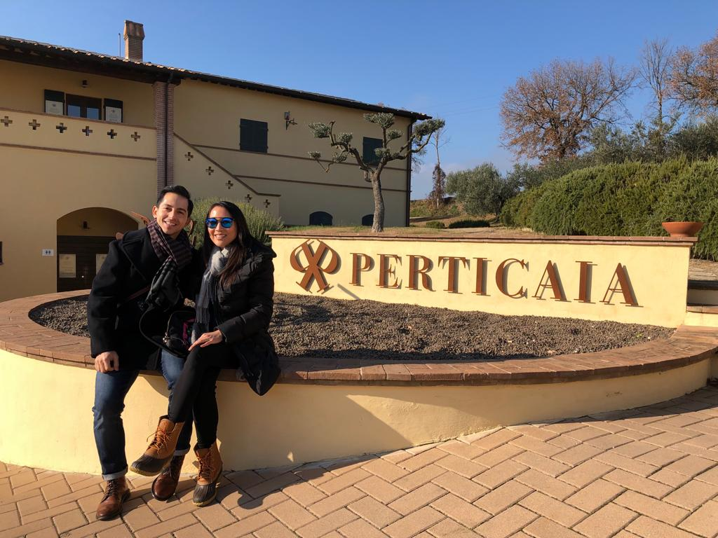 Perticaia winery in Montefalco, Italy
