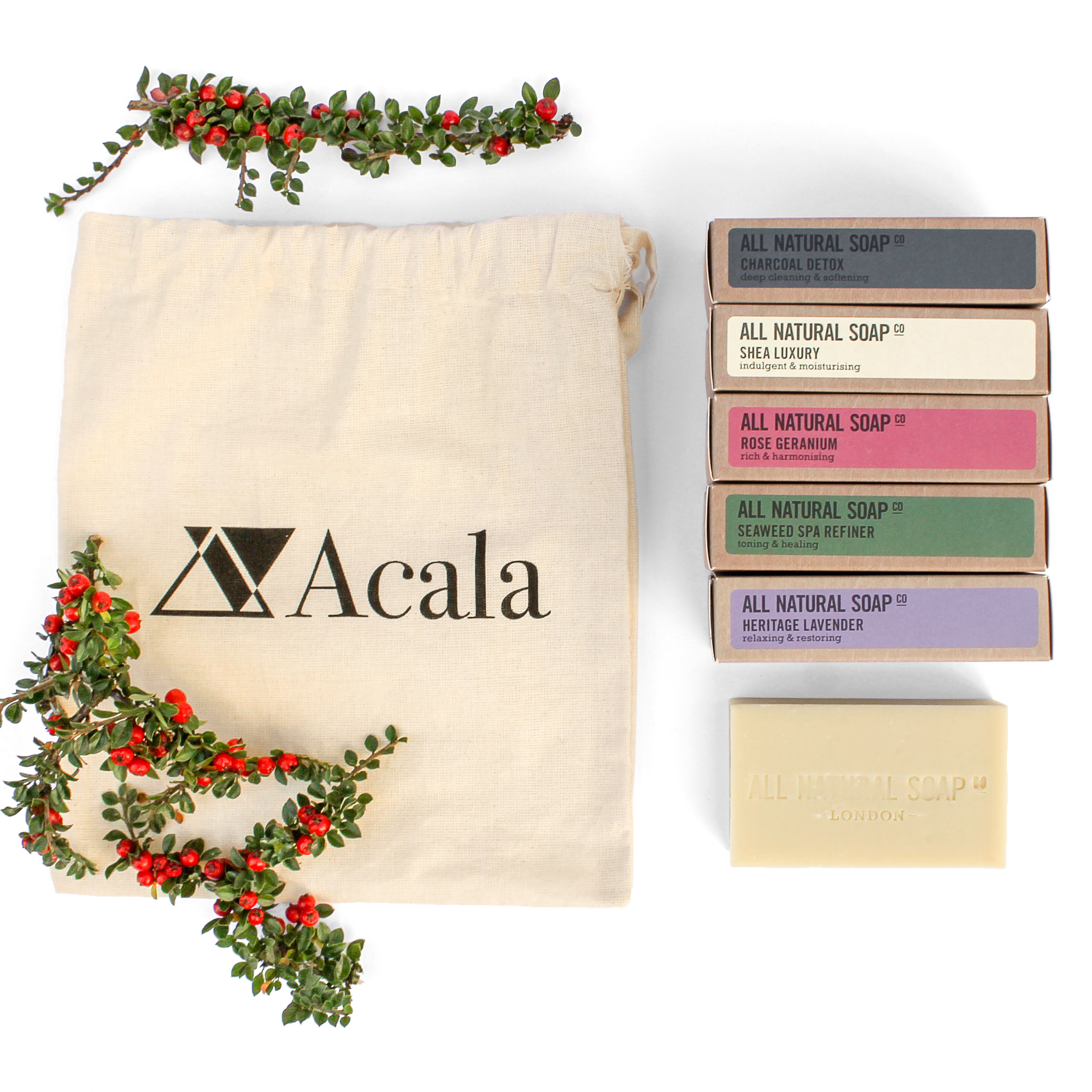 Acala - Founder Hannah Pumfrey  A gorgeous cornucopia of natural, plastic-free and vegan health and beauty products.