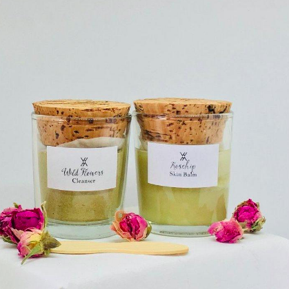 White Witch - Founder Ruth Ruane  Plastic-free, vegan, organic, cruelty-free, BPA-free beauty company. They're small-batch producers who source locally and have respect for nature.