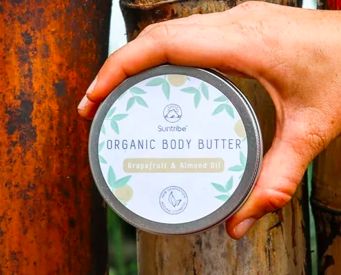 Suntribe - Founder  A Swedish company dedicated to preserving marine life through their biodegradable, non-toxic sunscreen and lotions. Recycled tin pots too!