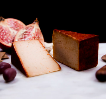 I Am Nut Okay - Founder Angela  If giving up dairy feels harder than using your hands for feet, try out I Am Nut Okay's gorgeous array of vegan cheese. Converted.