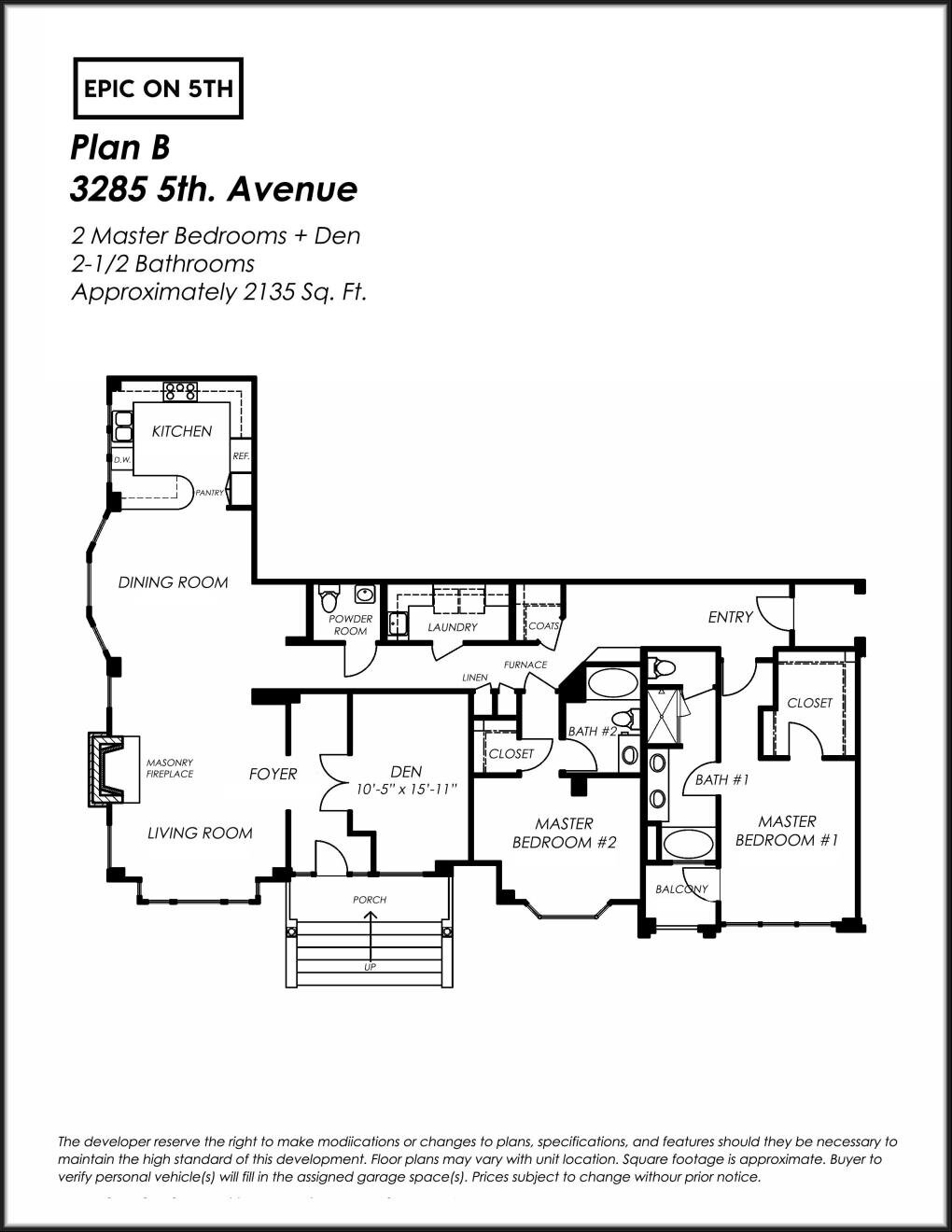 3285 Fifth Floor Plan Epic On 5th