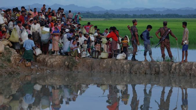 Theme : Ethnic conflict of the Rohingyas in Myanmar (Burma) - a consequence of social discrepancies
