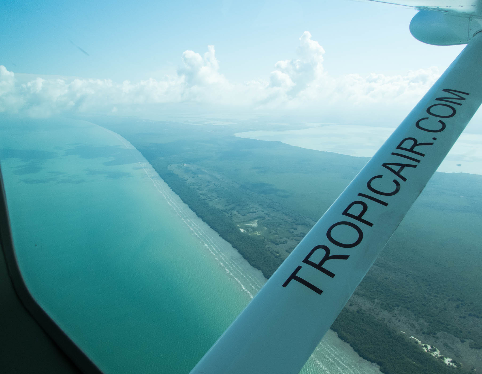 Flight from Belize City to Dangriga