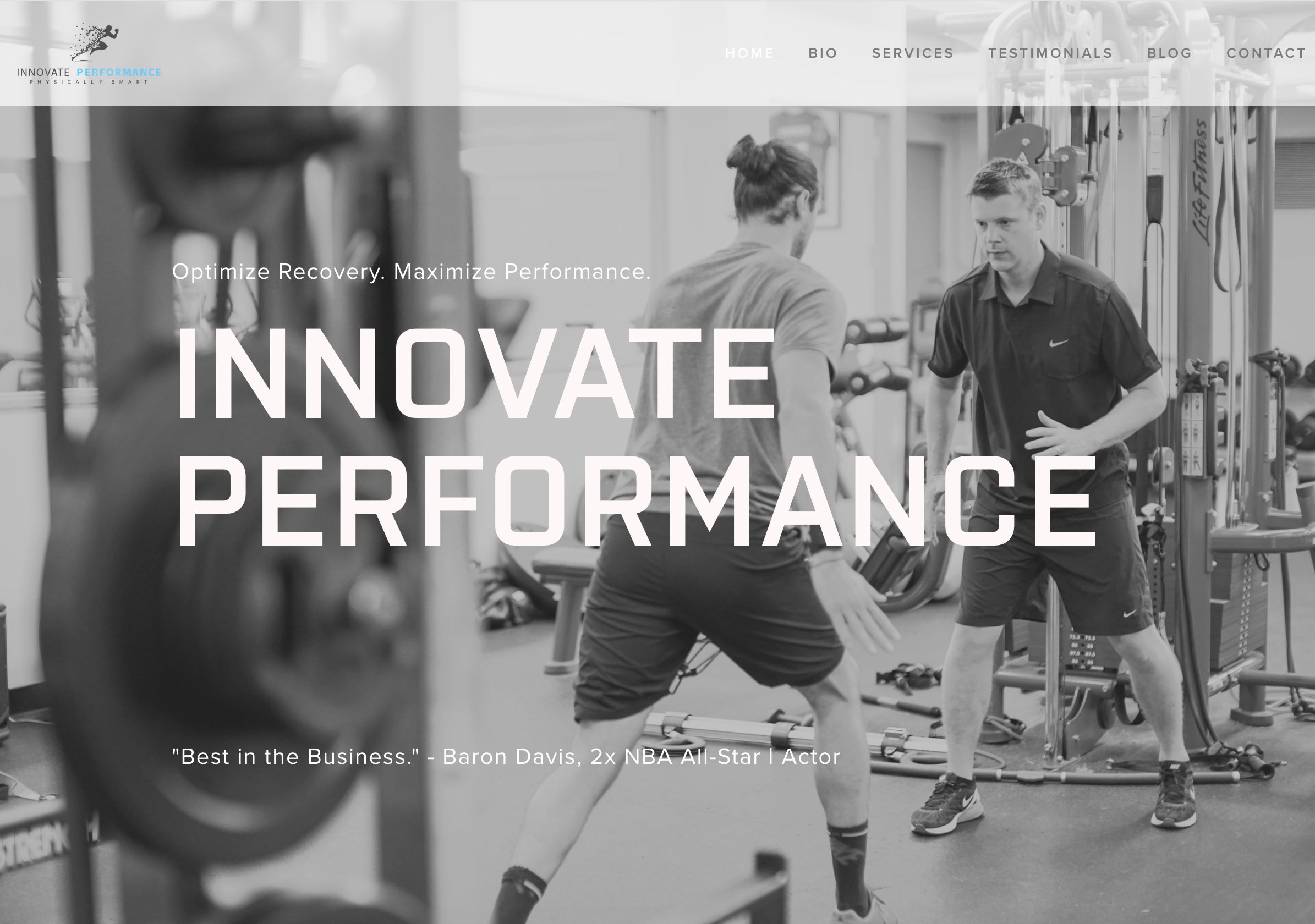 Elite Concierge Physiotherapy and Performance Training - www.innovateperformance.com