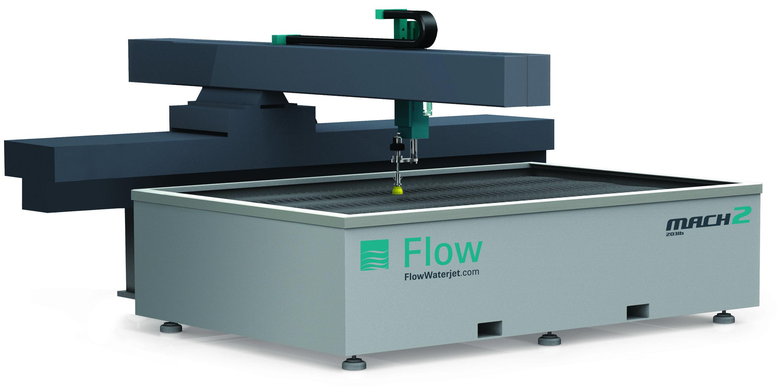 Flow Waterjet Fabrication