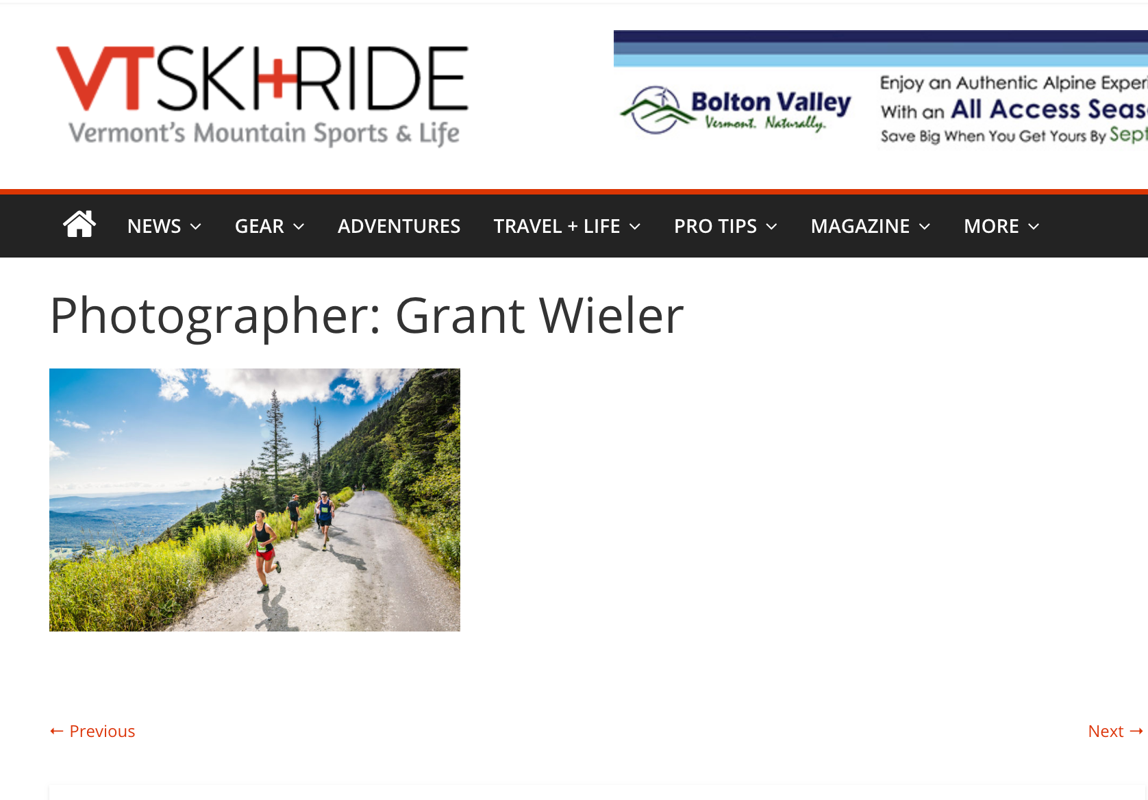 Contributing Photographer -