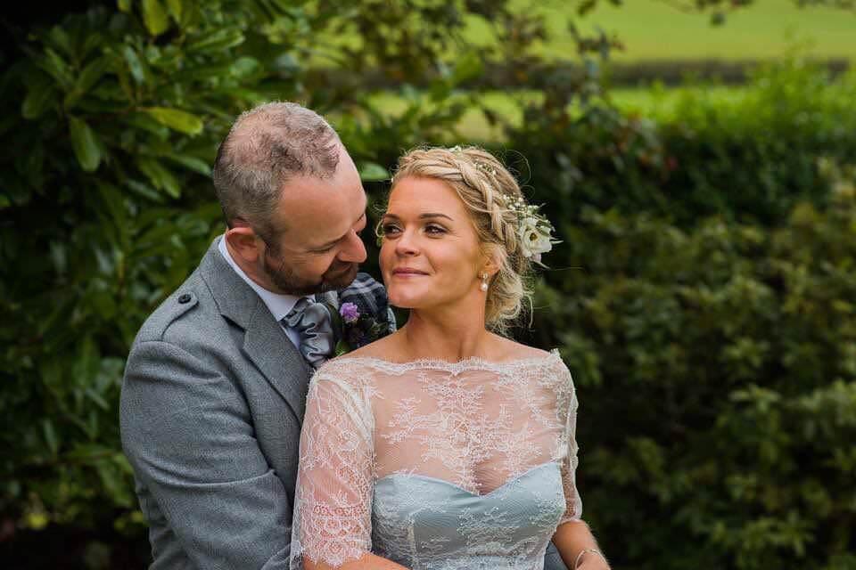 Blue Wedding dress Dalduff