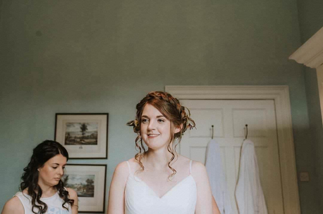 Byre at Inchyra bridal make up