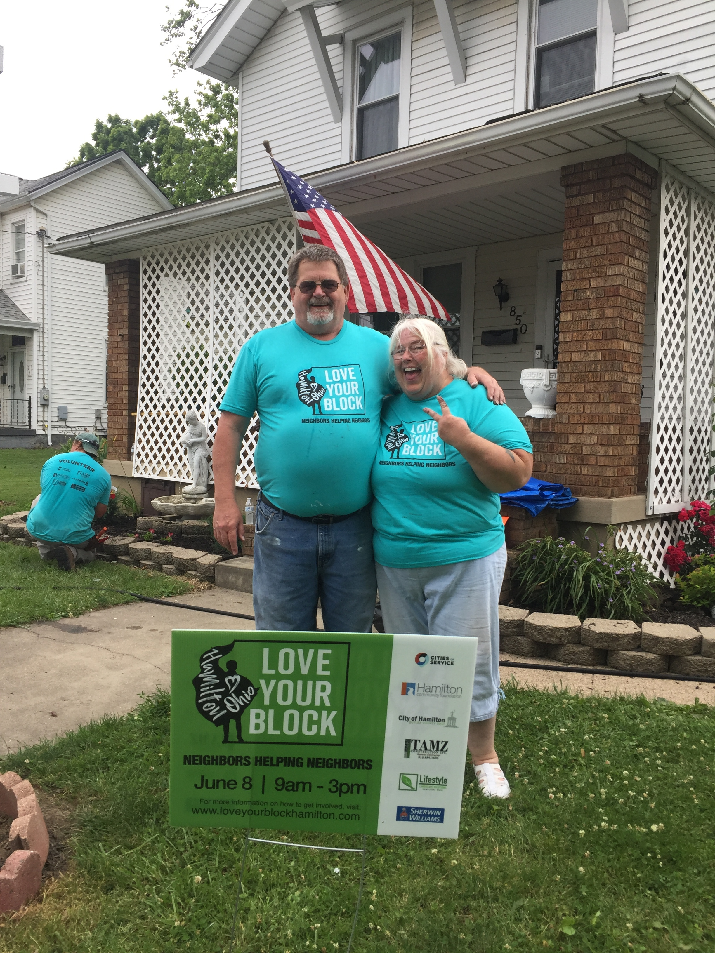 neighborhood champions - Bob and Yvonne Batterson live in the Armondale neighborhood. They have lived in their home for over 30 years. They take great care of their home and have stepped up as leaders in their neighborhood.