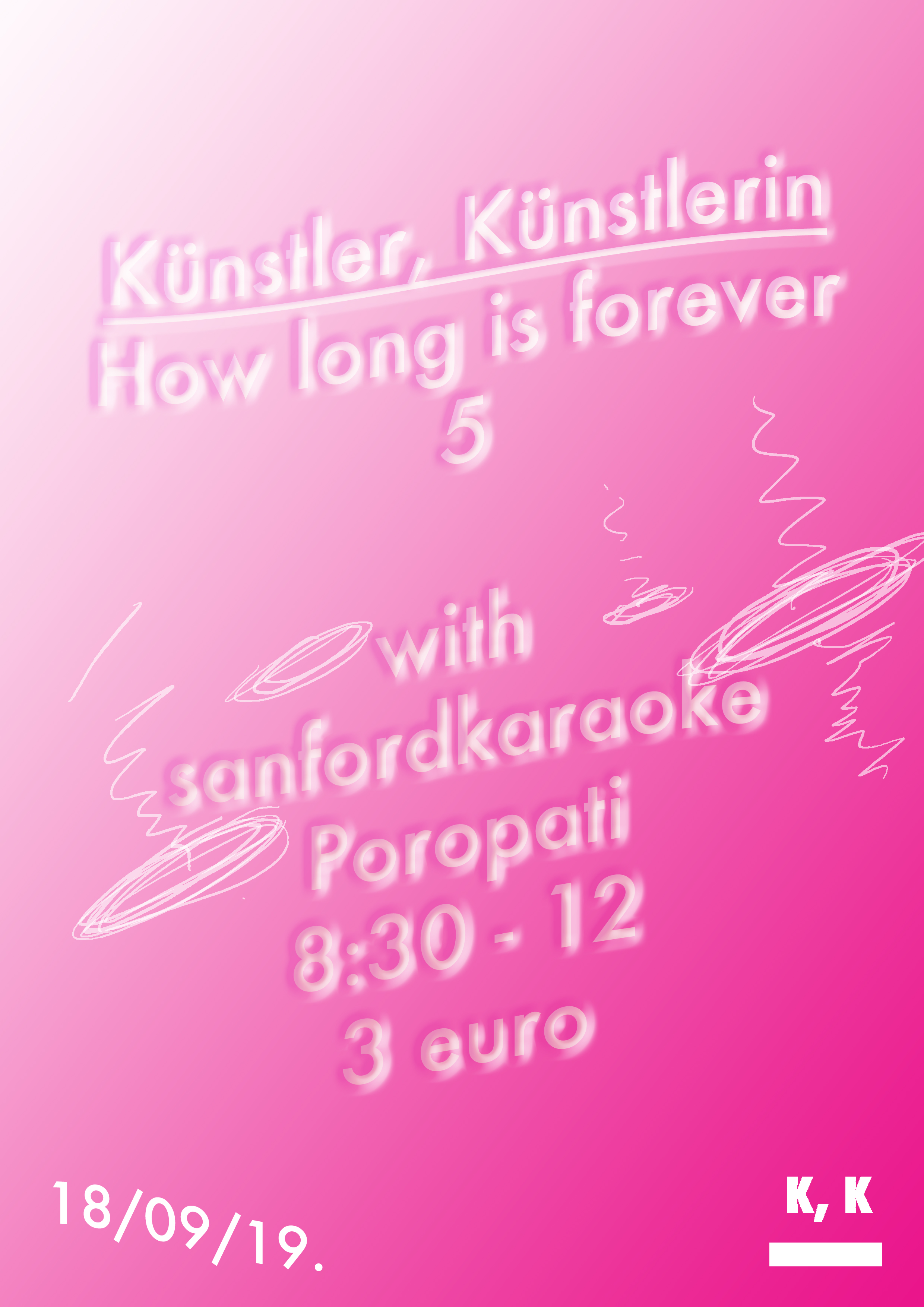 Kunstler, Kunstlerin, How long is forever 5 with sanfordkaraoke edit.jpg