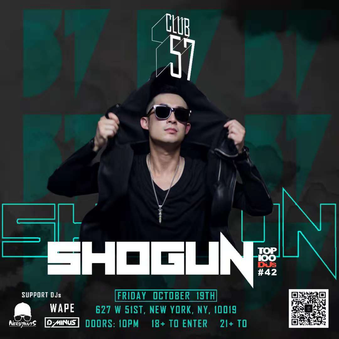 Shogun at Club 57  Oct. 19, 2018
