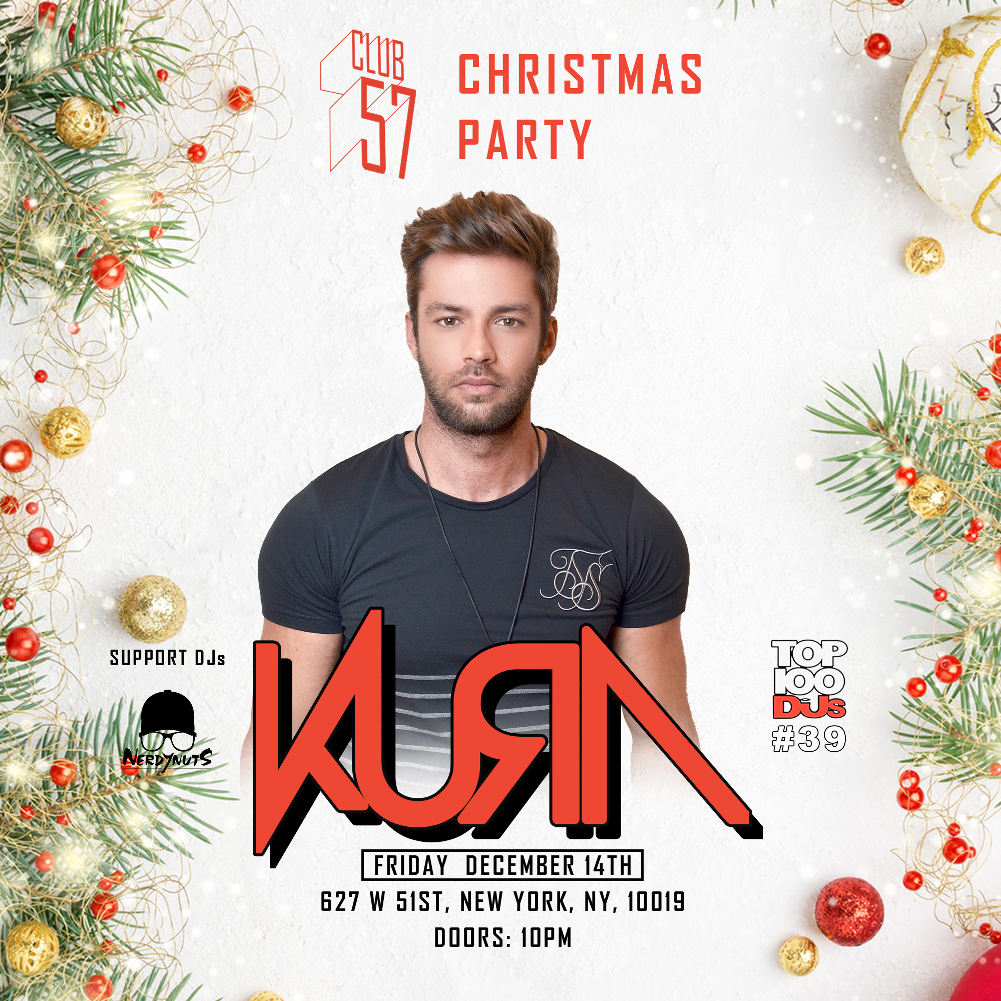 Kura at Club 57  Dec. 14, 2018