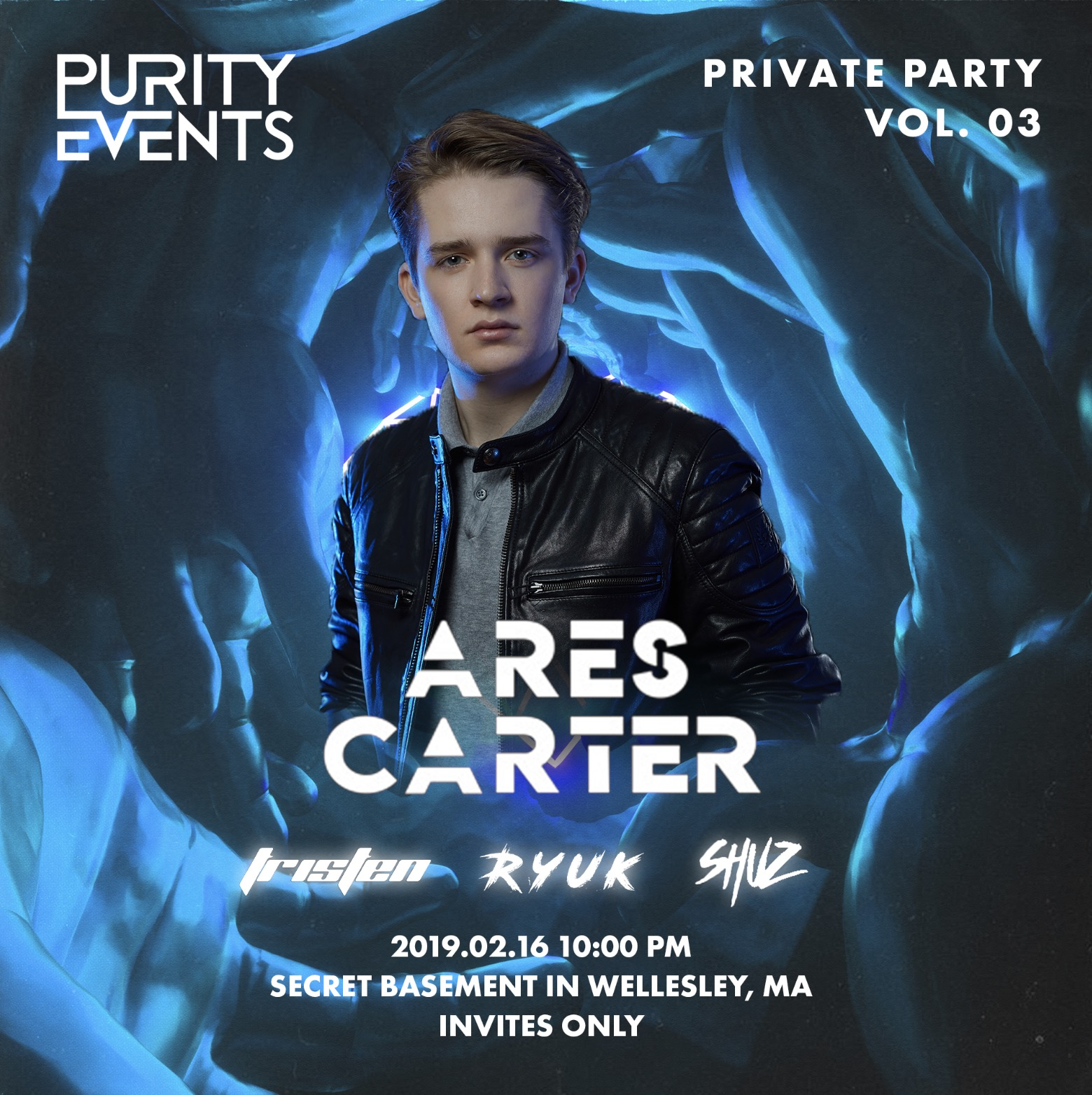 PURITY Private Party Vol. 03 with Ares Carter  Feb. 16, 2019