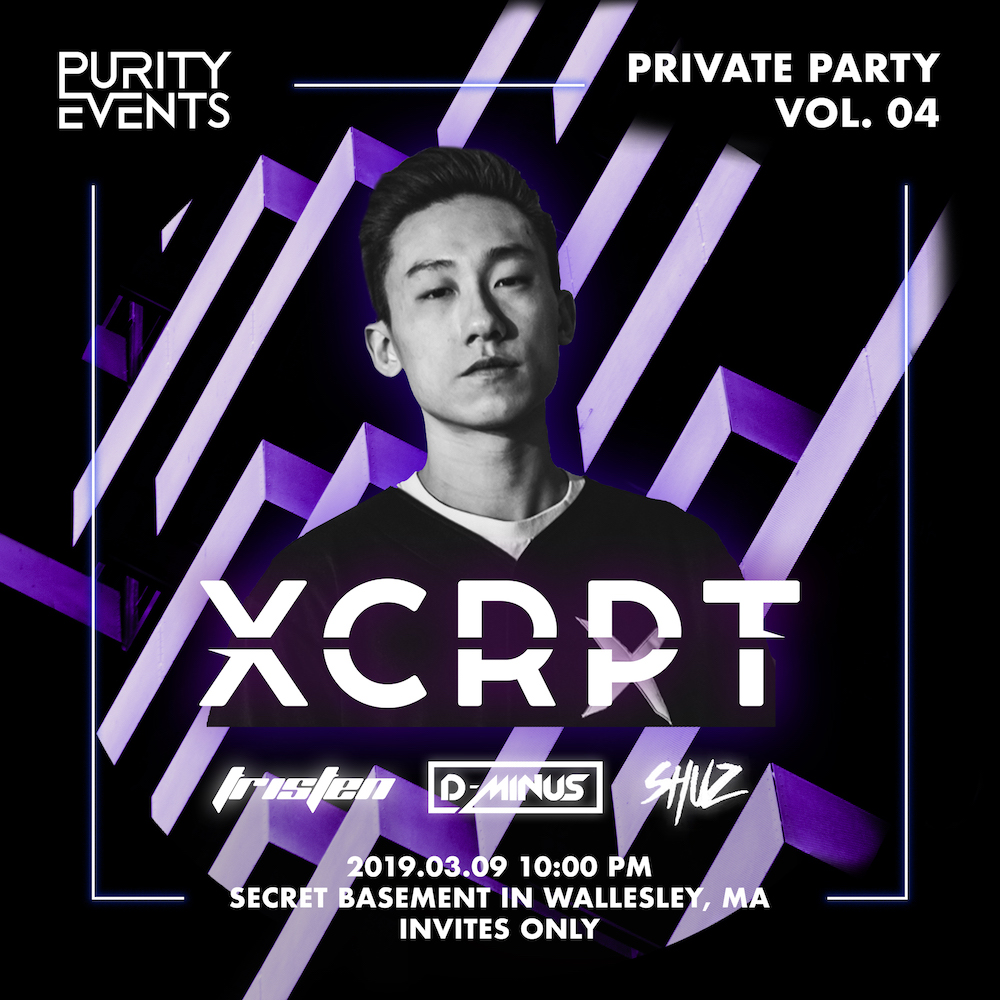 PURITY Private Vol. 04 with XCRPT  March, 09, 2019