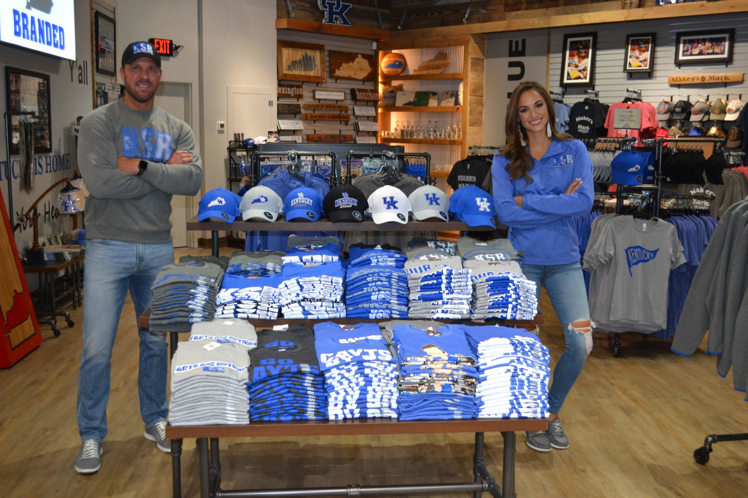 Maria Montgomery - Tim Couch - Kentucky Branded