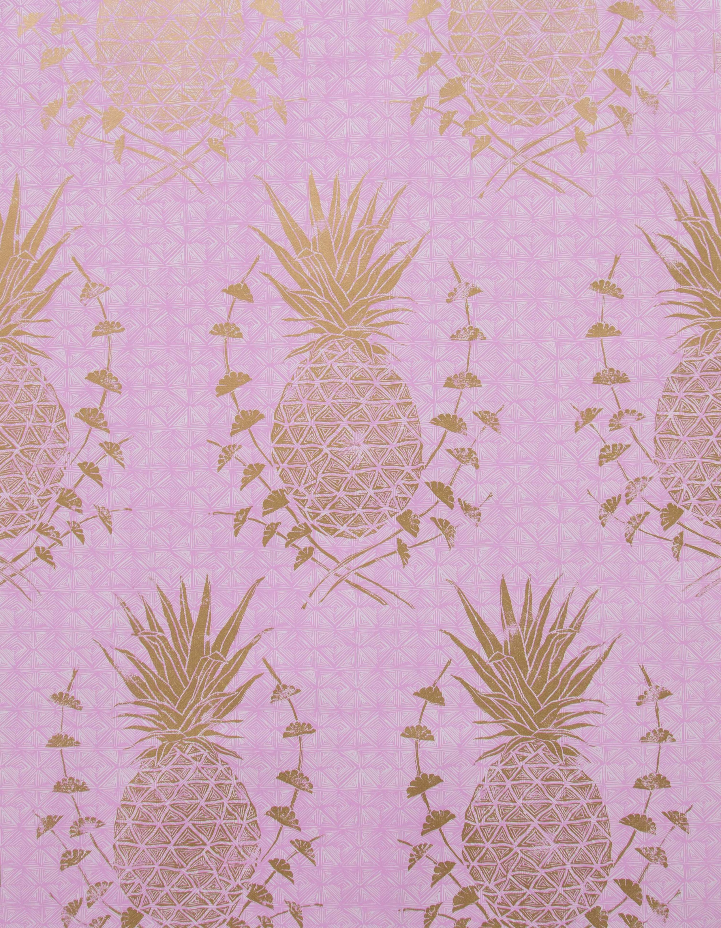 Royal Pineapple in Pink, SL210-01