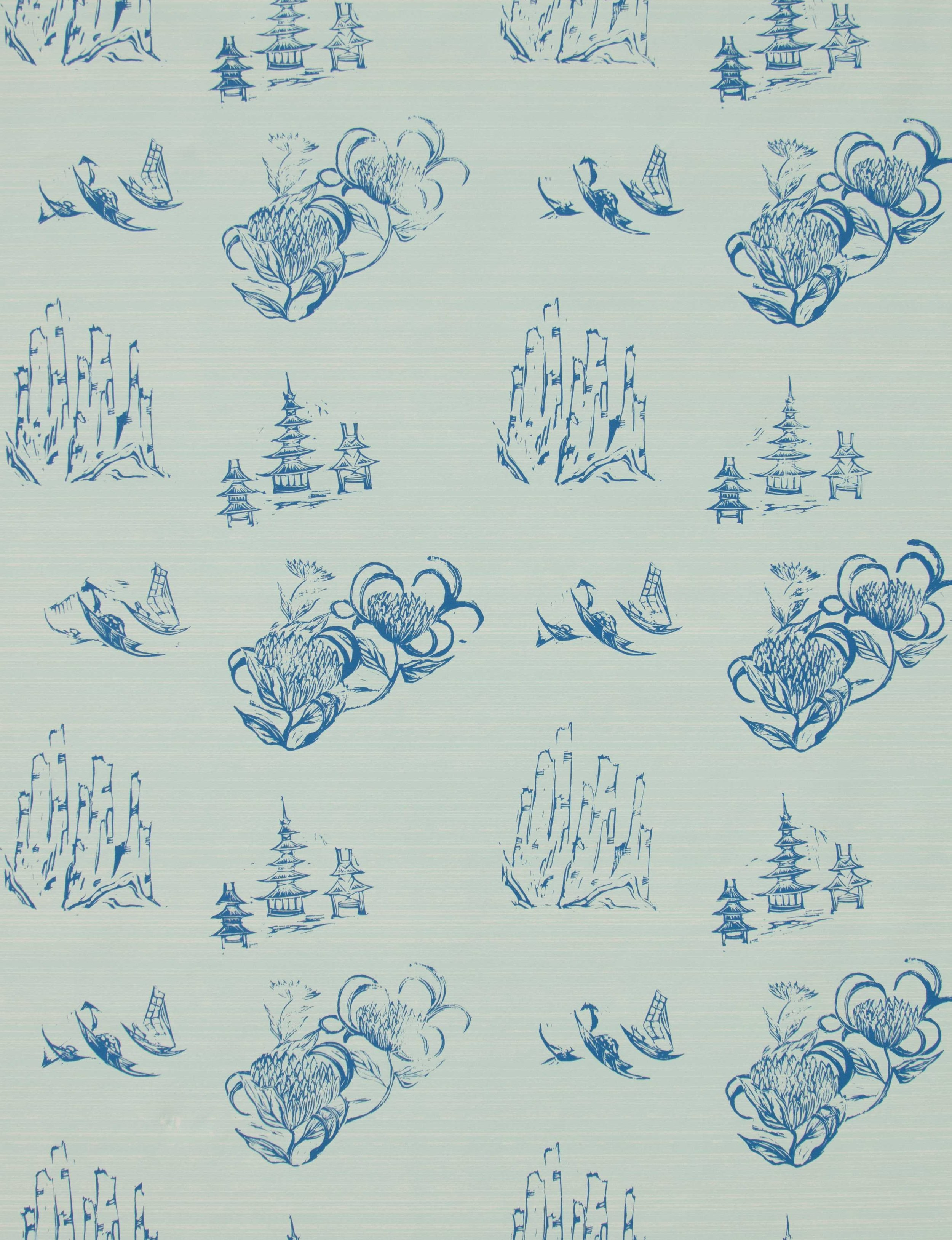 Toile in Mint, SL110-02