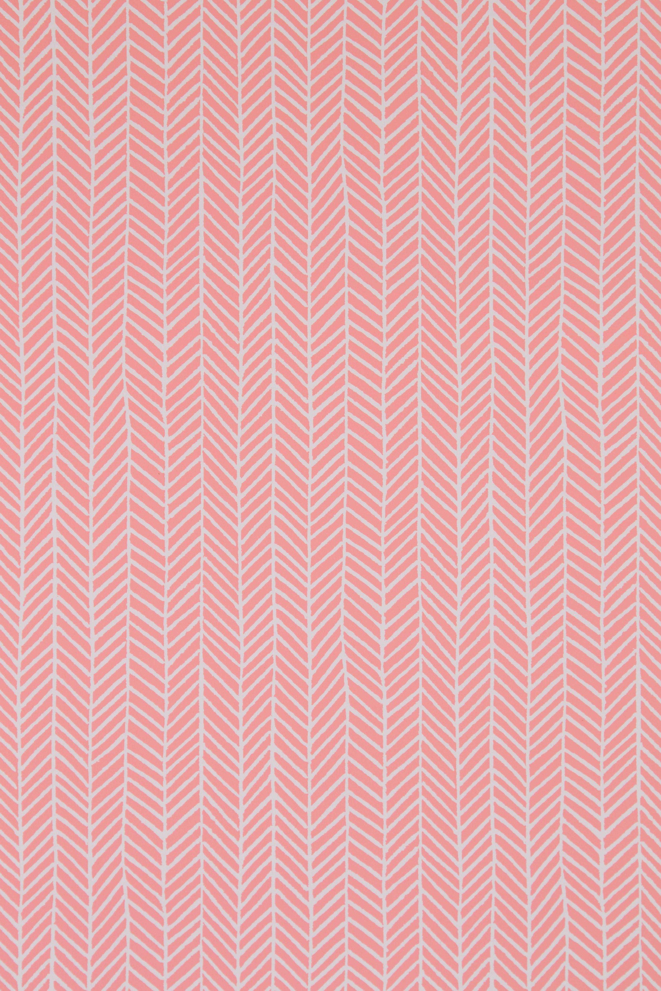 Herringbone in Coral Pink, SL190-08