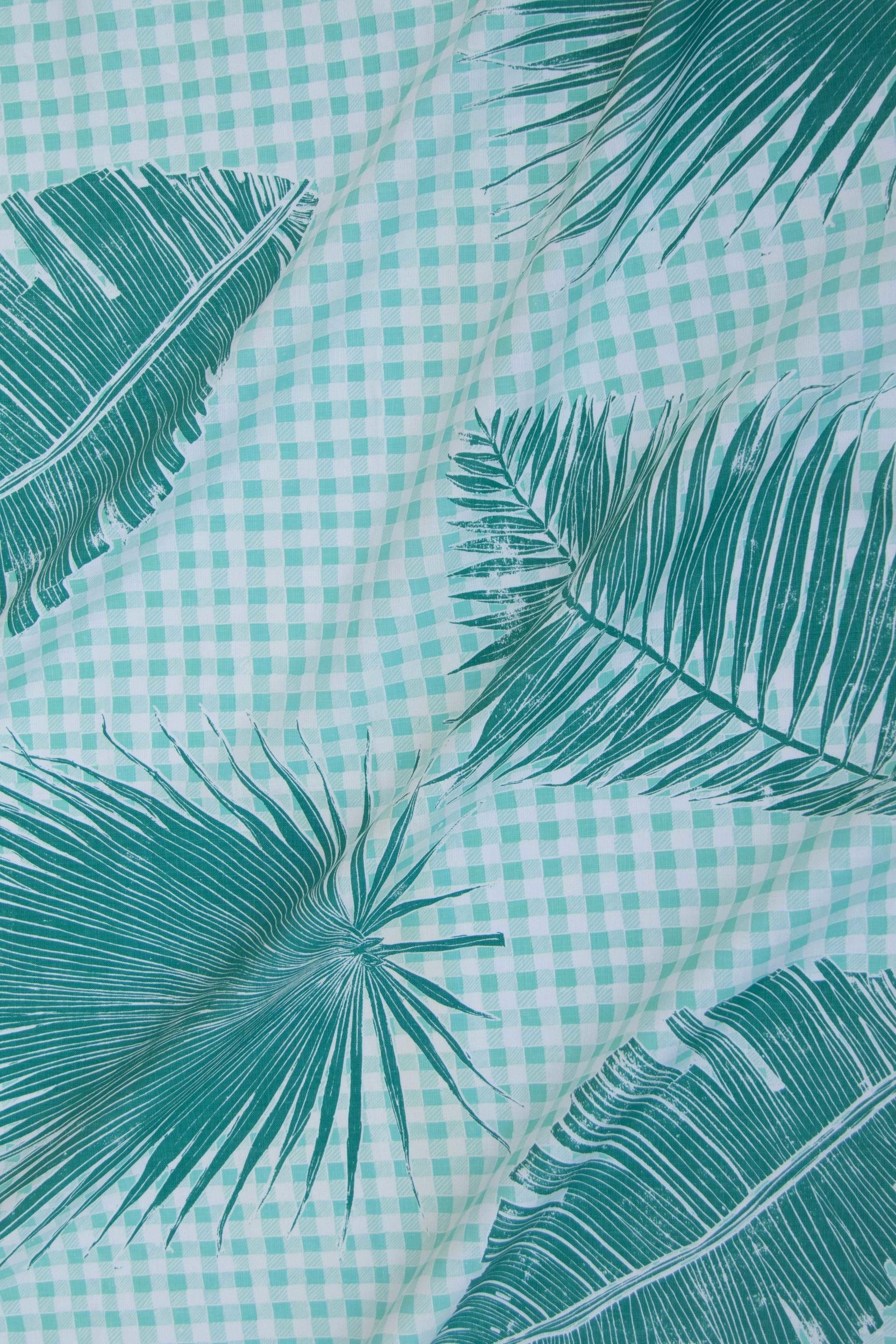 Gingham Jungle in Jade, KF230-02