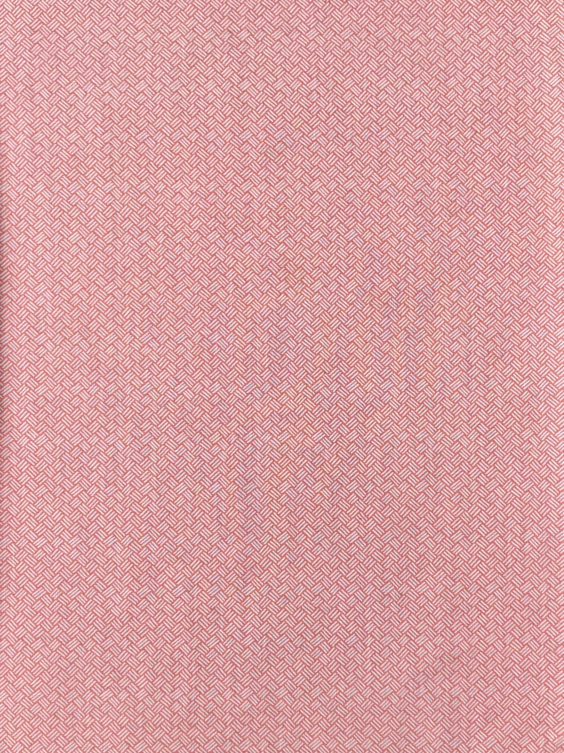 Basketweave in Coral Pink, KF202-05