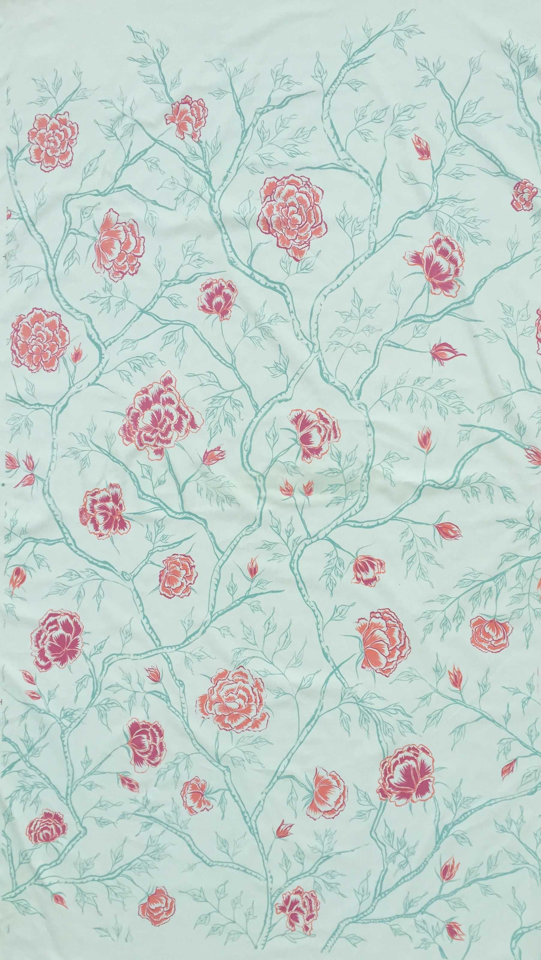 Peony Forest in Celadon, KF240-04