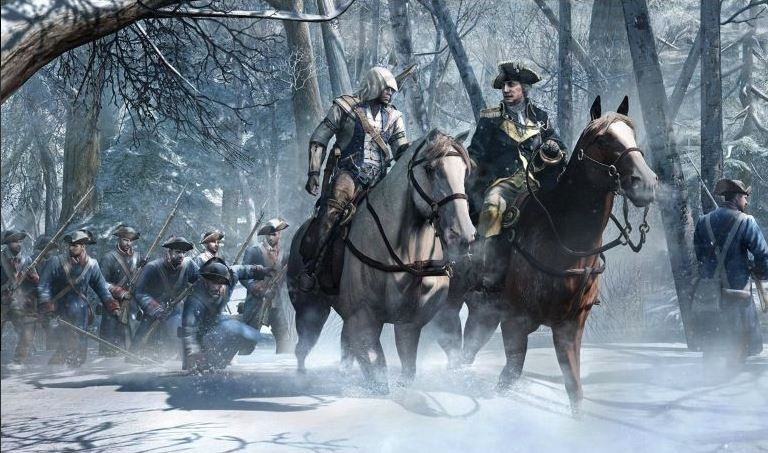 Assassin's Creed 3, Ubisoft, 2012
