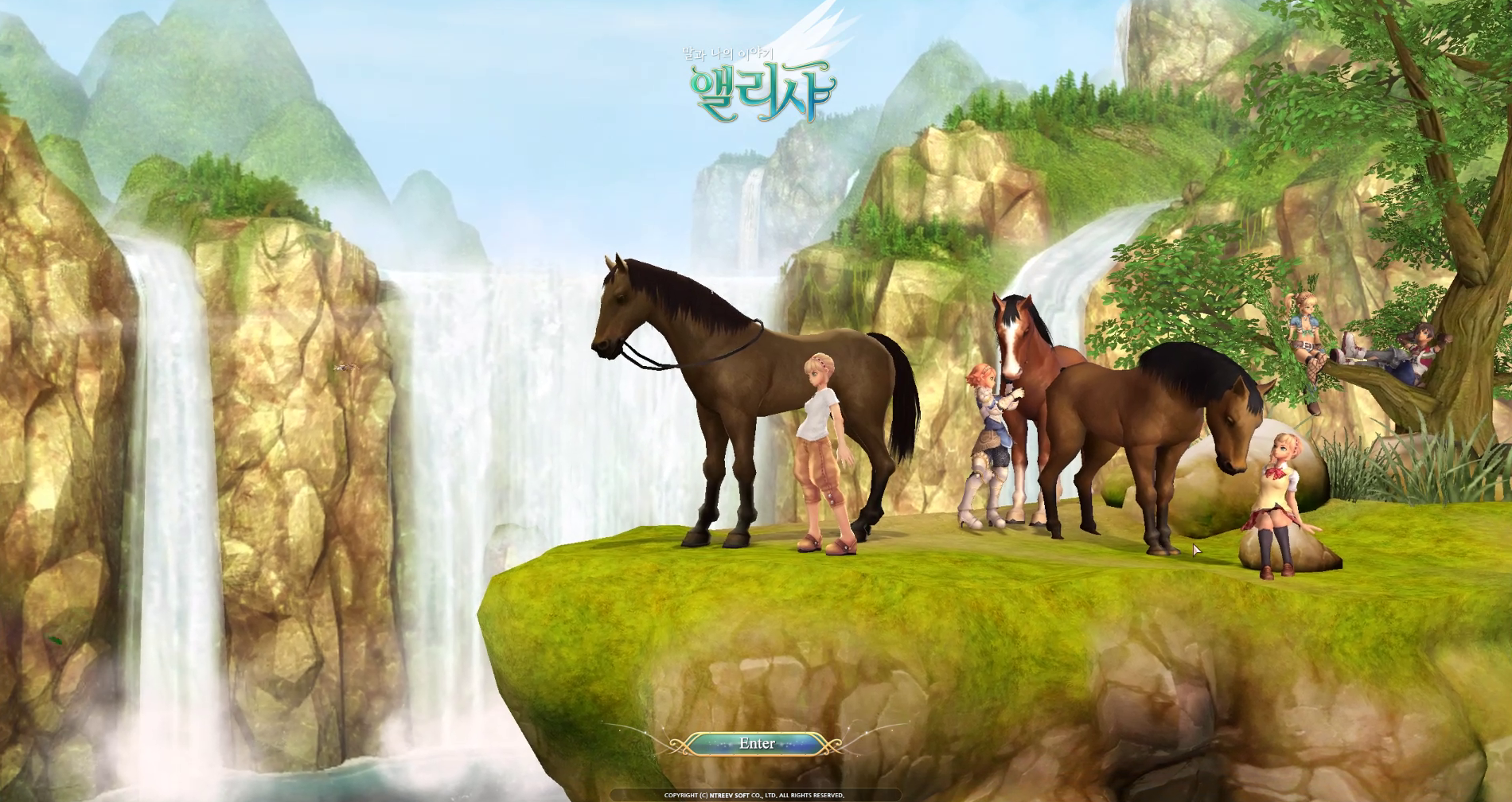 alicia horse racing game download free