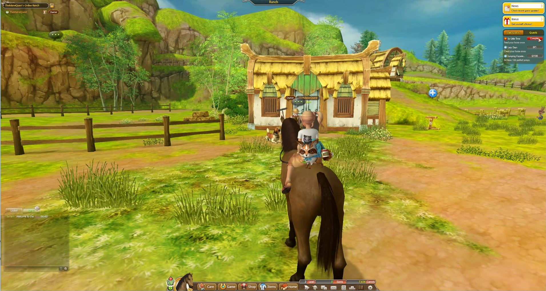 My Ranch in Alicia Online