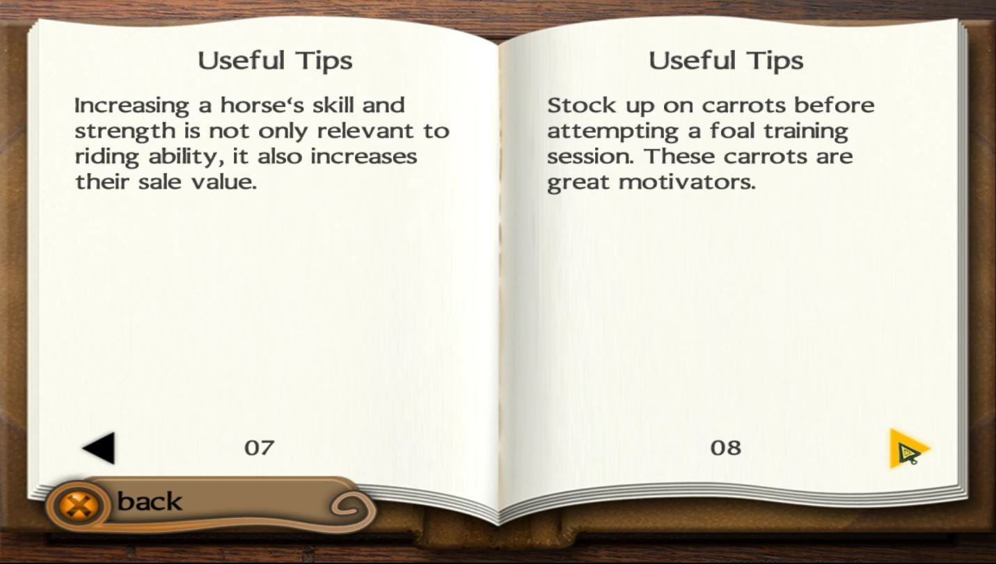 You can spend your hard earned credits on books, which contain tips. This is awful from a game design perspective because you stall your progress in order to understand the basic mechanics.