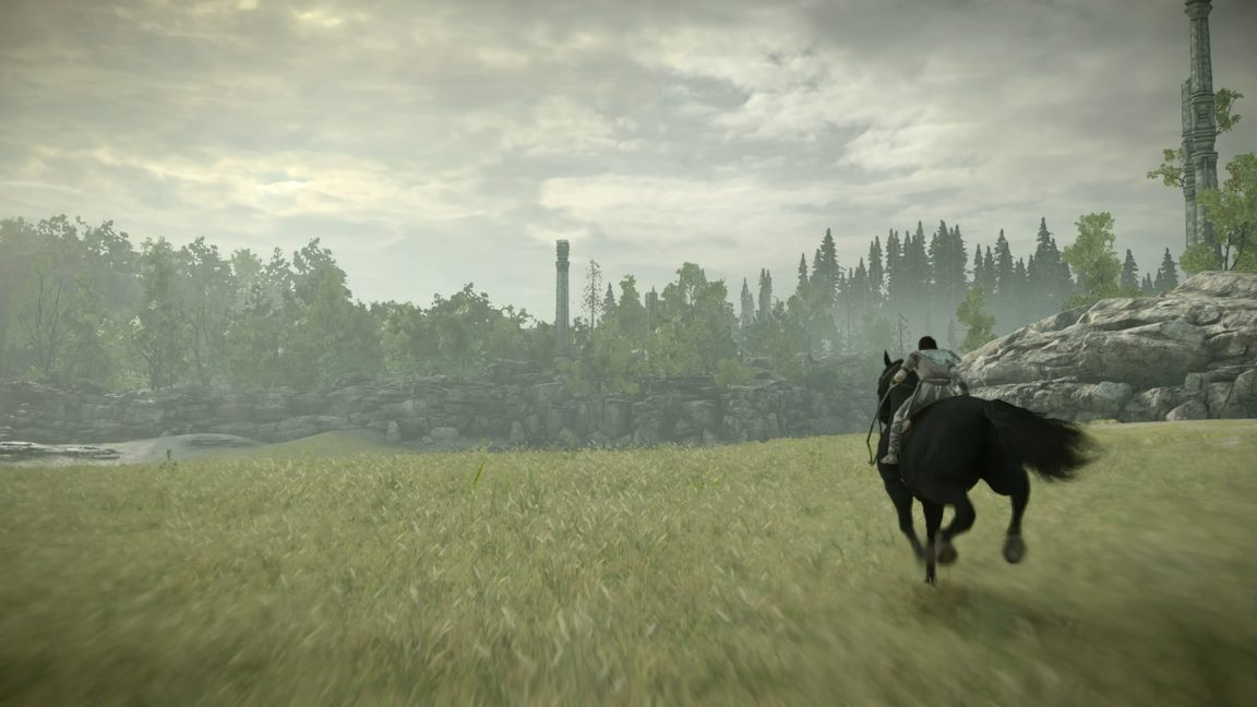 Shadow of the Colossus  has a wonderful horse companion, but much of the gameplay is focused on combat.