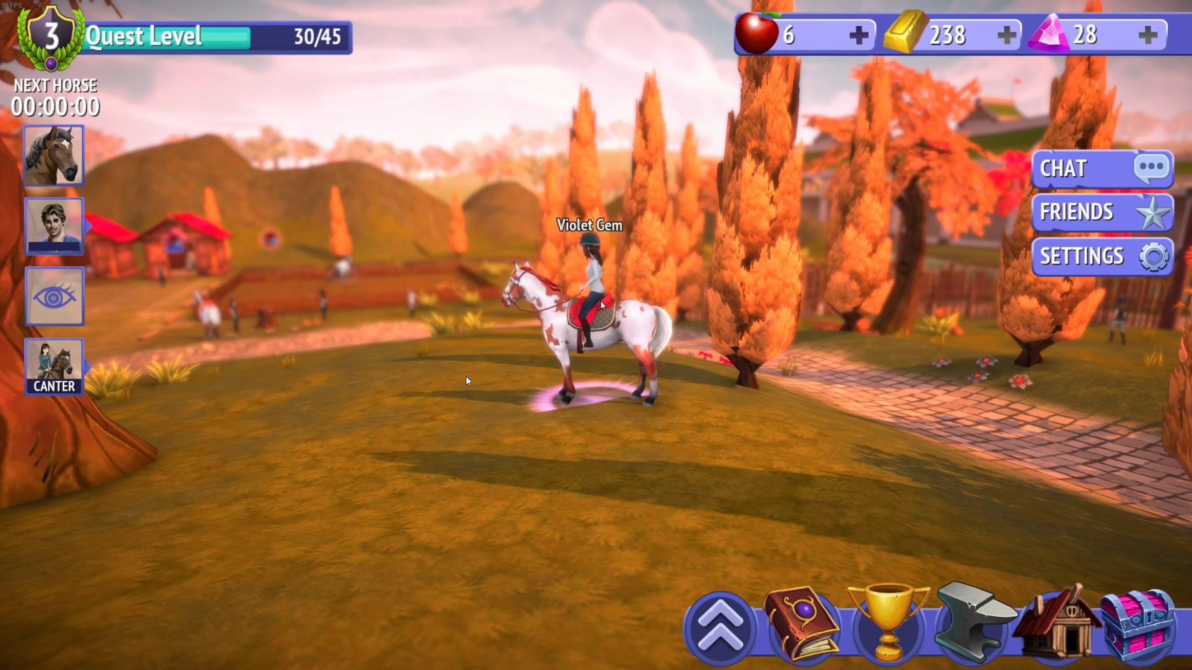 Horse Riding Tales — Cute Horses, Bad Interface and Excessive