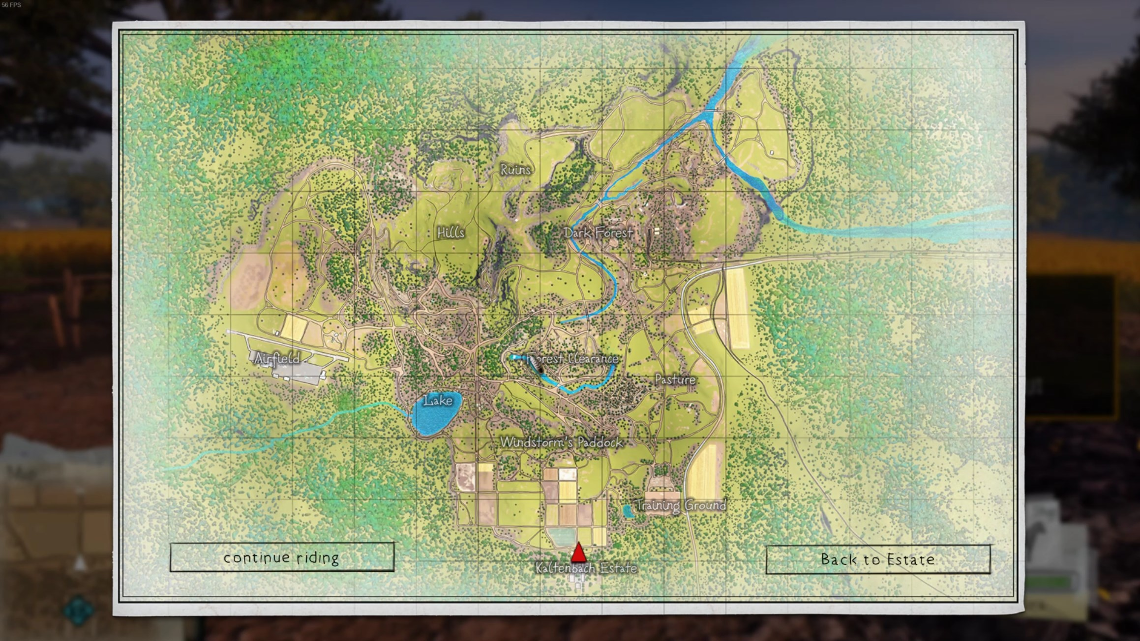 The map is sizeable, but missions are not marked on it and there is no real reward for picking up collectibles.