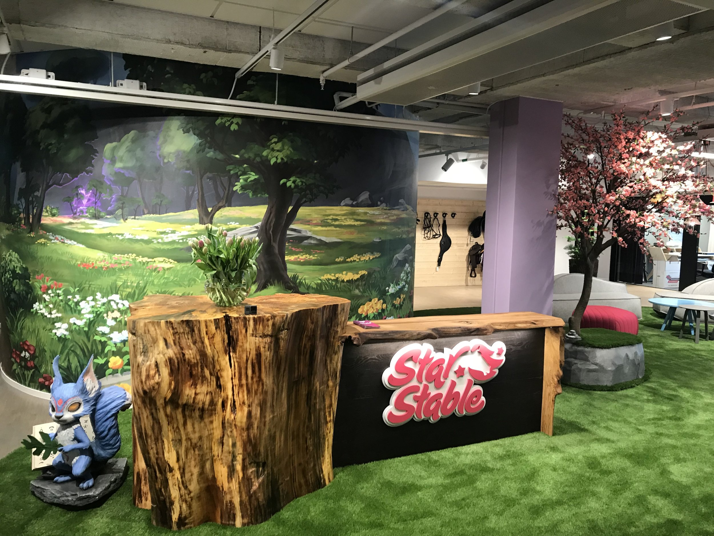 The Star Stable Entertainment headquarters in Stockholm is where the magic is made.
