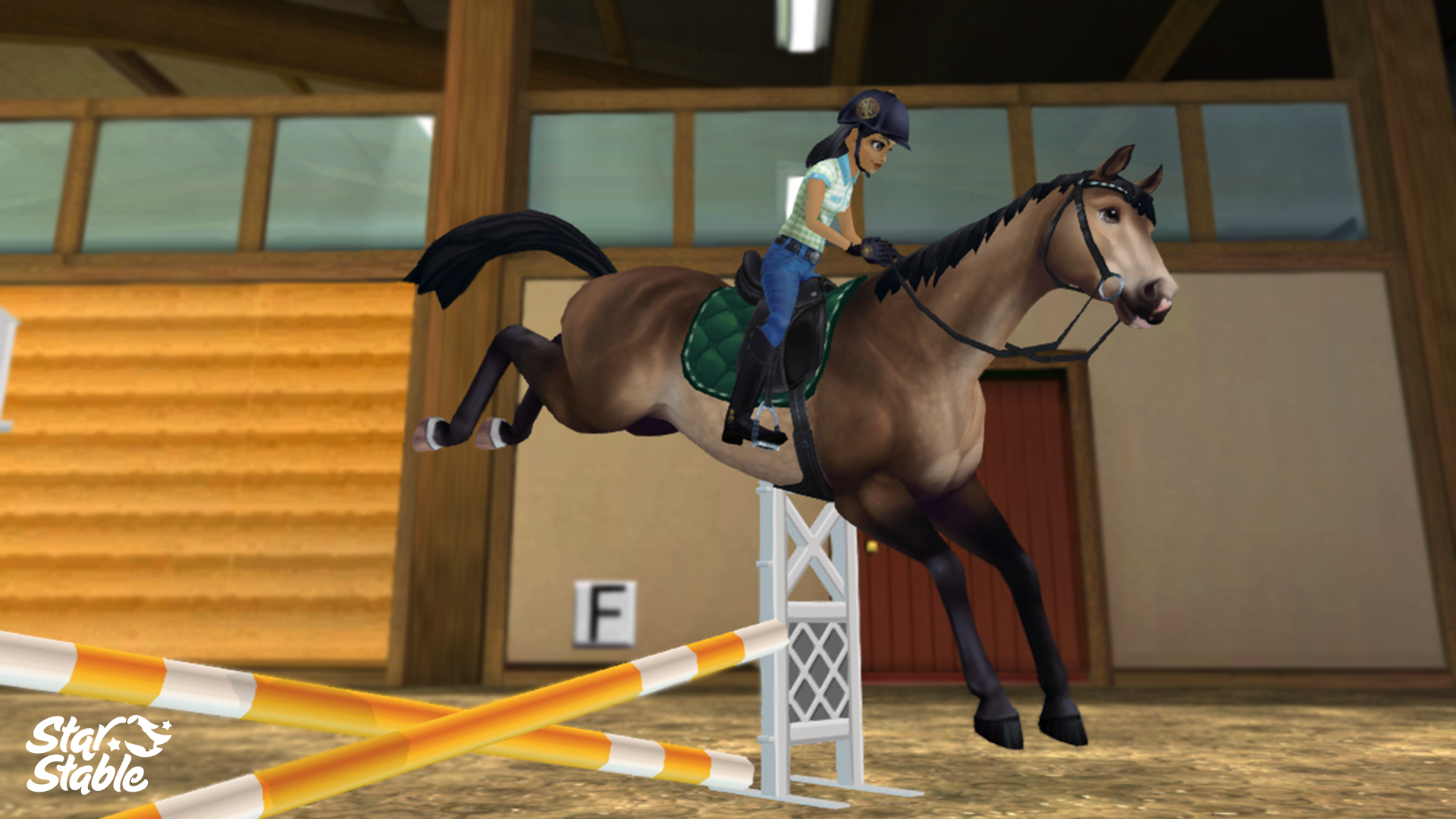 SSO features both real-life horse breeds and mundane tasks…